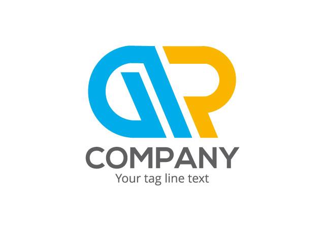 Letter G R Logo Design