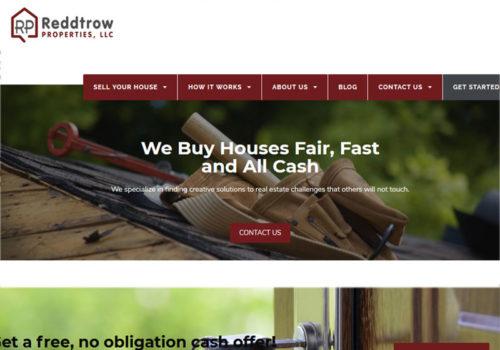 Reddtrow-Propertes-LLC-website-design
