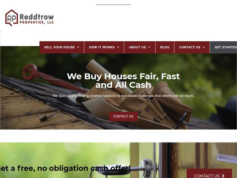 Reddtrow-Propertes-LLC-website-design
