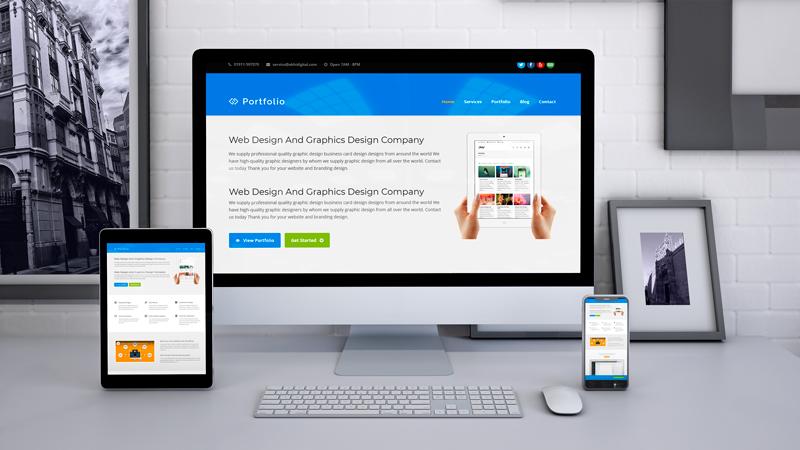 Freelancing Business Website