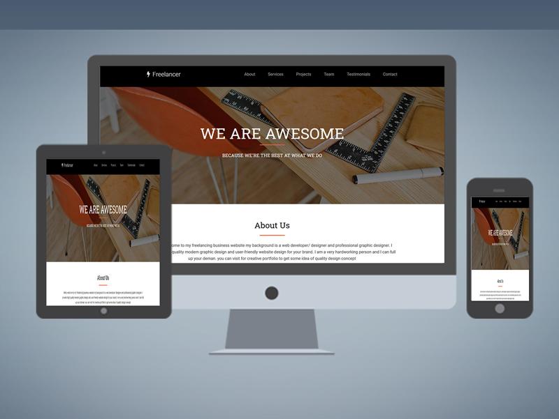 Freelancing Business Website Design